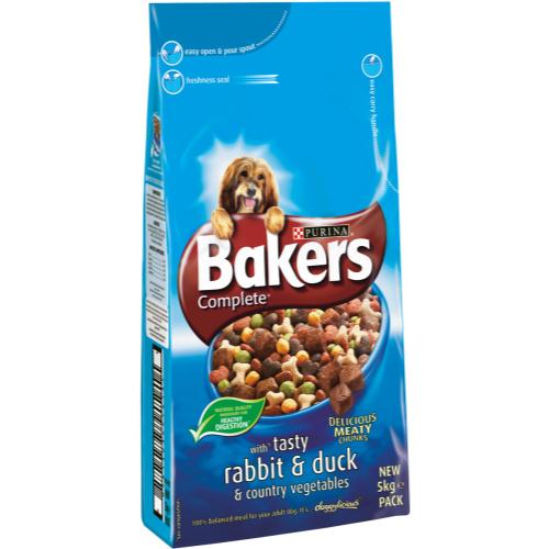 Bakers Complete Rabbit & Duck Adult Dog Food