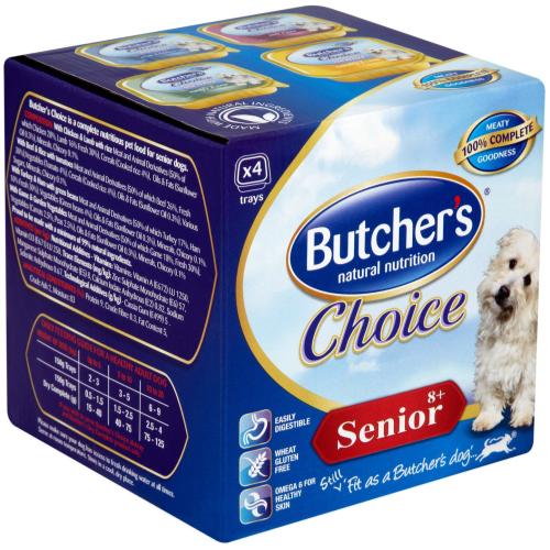 Butchers Choice Senior Multipack Dog Food