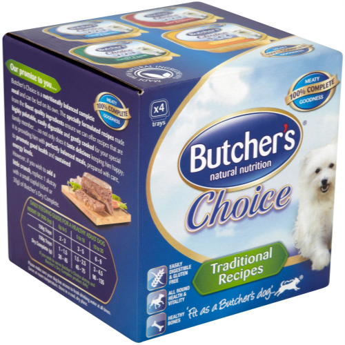 Butchers Choice Adult Multipack Dog Food