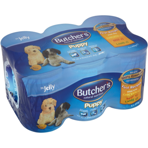 Butchers First Recipes Puppy Food in Jelly Dog Food