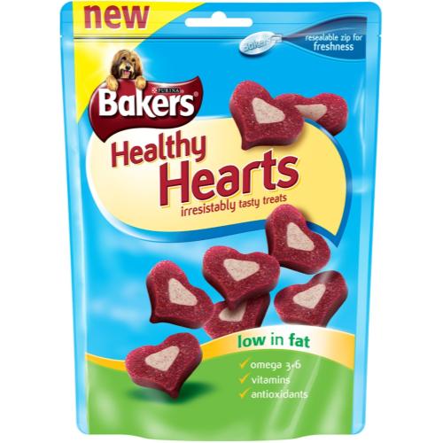 Bakers Healthy Hearts Dog Treats