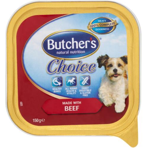 Butchers Choice Made with Fresh Beef Dog Food