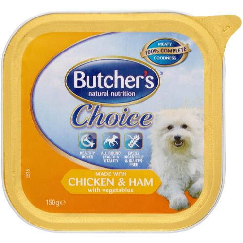 Butchers Choice Chicken Ham & Vegetables Dog Food