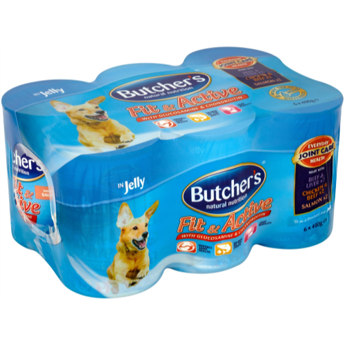 Butchers Fit & Active Chunks in Jelly Dog Food