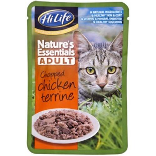 HiLife Natures Essentials Chicken Terrine Adult Cat Food