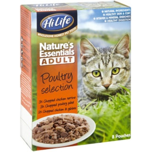 HiLife Natures Essentials Poultry Selection Adult Cat Food