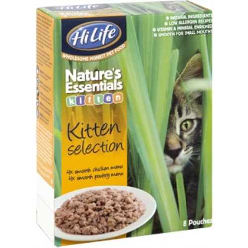 HiLife Natures Essentials Selection Pouch Kitten Food
