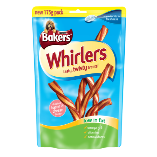 Bakers Whirlers Dog Treats