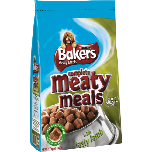 Bakers Complete Meaty Meals Lamb Adult Dog Food