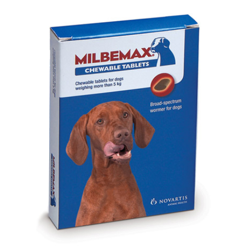 milbemax dog wormer instructions