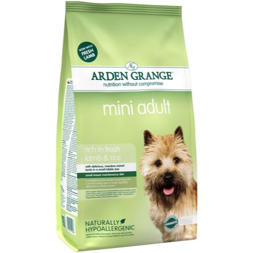 Arden Grange Mini Lamb & Rice Adult Dog Food 6kg x 2