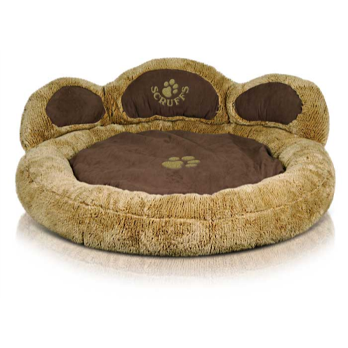 Scruffs Grizzly Bear Dog Bed Teddy