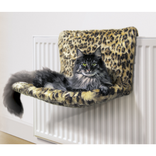 Danish design kumfy kradle radiator cat bed from for Designer cat beds uk