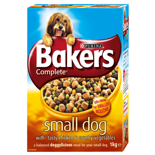 Bakers Complete Chicken & Vegetable Small Breed Adult Dog Food