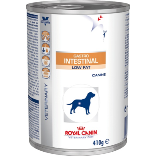 royal canin veterinary gastro intestinal low fat dog food cans. Black Bedroom Furniture Sets. Home Design Ideas