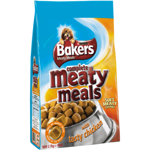 Bakers Complete Meaty Meals Chicken Adult Dog Food