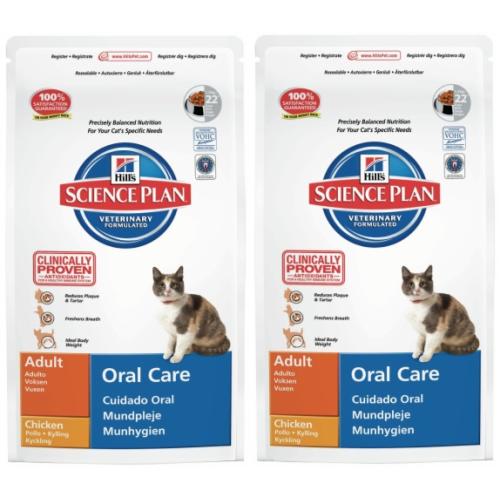 Hills Science Plan Feline Adult Oral Care Chicken