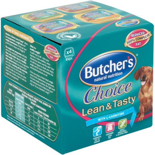 Butchers Choice Lean & Tasty  Dog Food