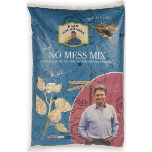 Alan Titchmarsh No Mess Seed Mix Wild Bird Food 4kg