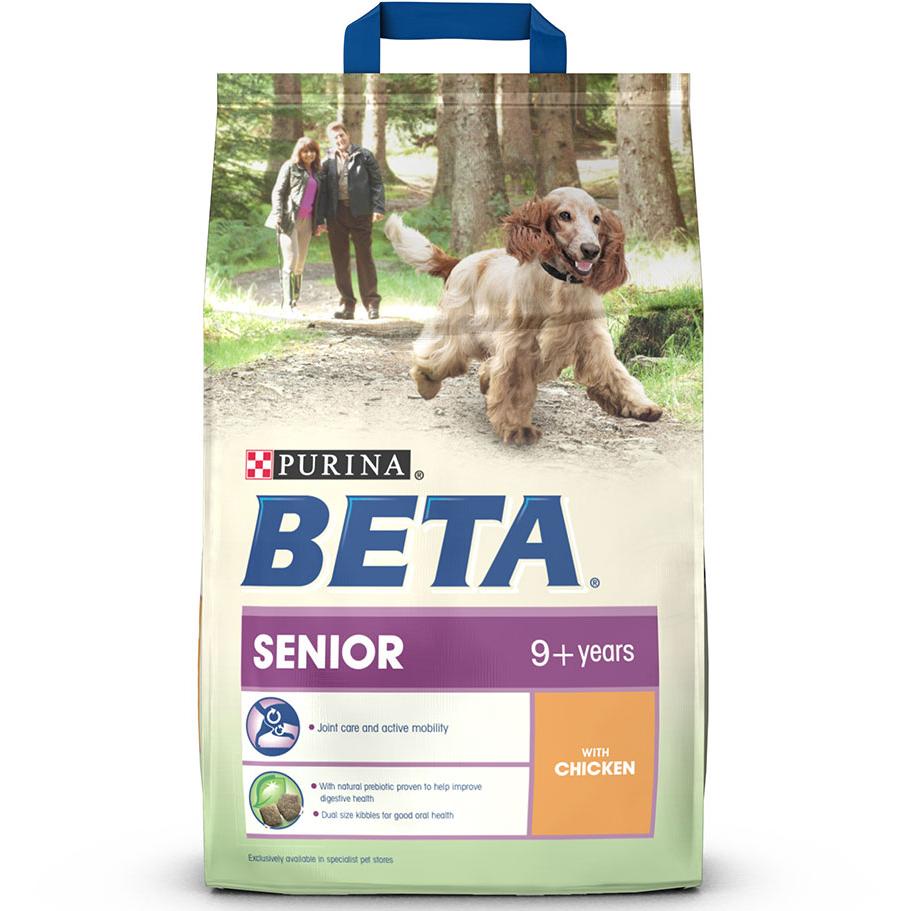 BETA Chicken Senior Dog Food 2.5kg