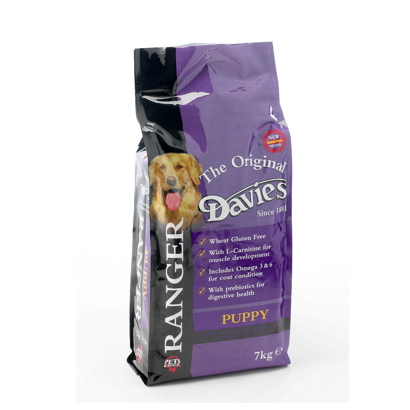 Davies Ranger Puppy Dog Food 7kg