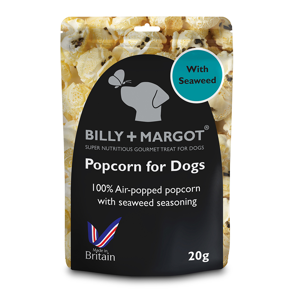 Billy & Margot Popcorn for Dogs 20g x 8