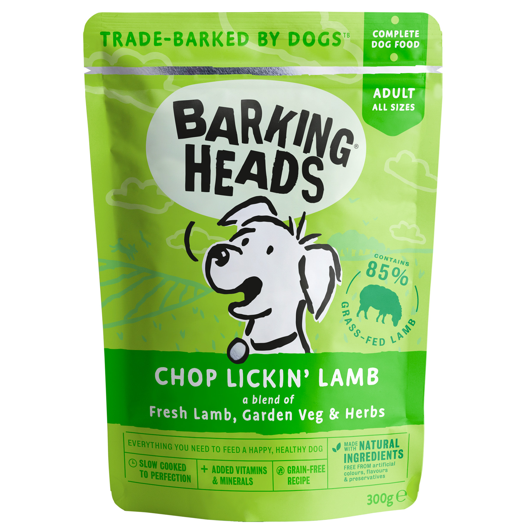 Barking Heads Chop Lickin Lamb Adult Dog Food
