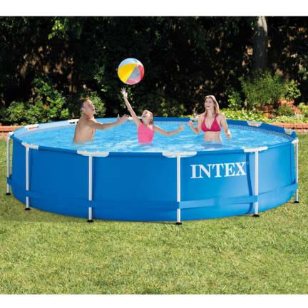 Intex Metal Frame Pool 12 X 30