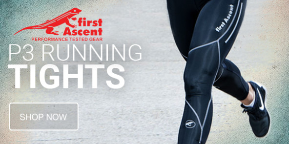 First Ascent P3 Running Tights