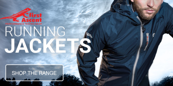 First Ascent Running Jackets