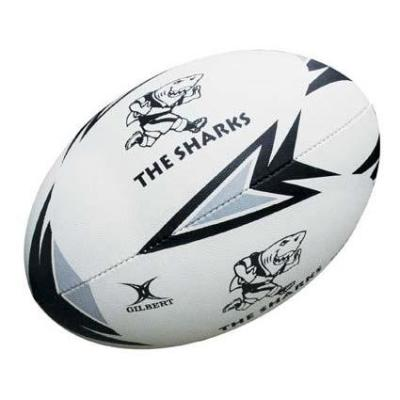 Gilbert Sharks Rugby Ball