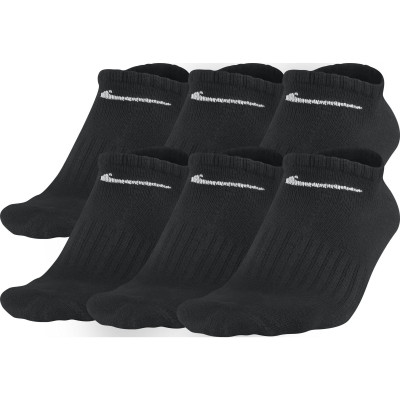 Nike Value Cotton No-Show Socks (6 Pack)