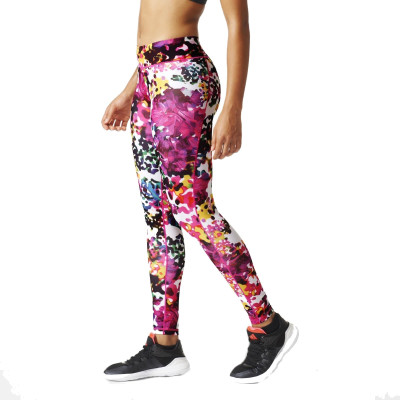 adidas Women's Workout Flower Long Tights
