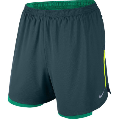 "Nike Men's Phenom 5"" 2-1 Short"