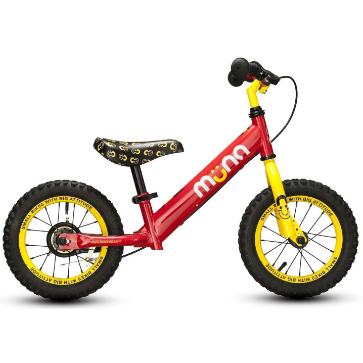 "Muna 12"" Firetruck First Bike"