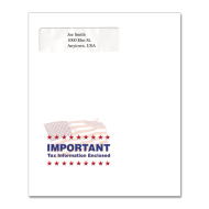 Picture for manufacturer Multi-Purpose Tax Return Envelope (Flag Important)