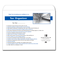 Picture for manufacturer Tax Organizer Envelope