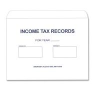 Picture for manufacturer Income Tax Records Envelope