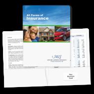 Picture for manufacturer Pre-Designed Insurance Folders (Blue Sky)