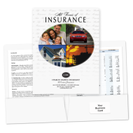 Picture for manufacturer Pre-Designed Insurance Folders (Oval)