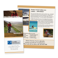 Picture for manufacturer Recreational Insurance Cross-Sell Brochure
