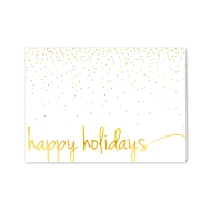 Picture for manufacturer Confetti Happy Holidays Greeting Card