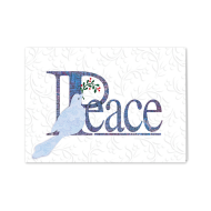 Picture for manufacturer Peace Dove Embossed Greeting Card