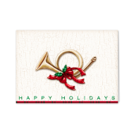 Picture for manufacturer Holiday French Horn Greeting Card