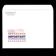 Picture of Designer Tax Return Envelope (Flag Important)