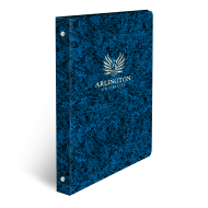 Picture of Marble Foil Stamped Binders