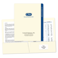 Picture of Designer Tax Return Folders (America Counts On CPAs)