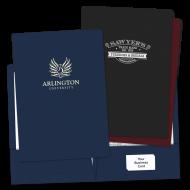 Picture of Foil Stamped Legal Size Pocket Folders