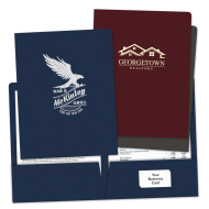 Picture of Foil Stamped Pocket Folders