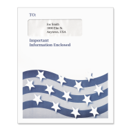 Picture of Multi-Purpose Tax Return Envelope (Stars & Stripes)